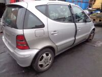 BREAKING MERCEDES A-CLASS W168 A140 A170CDI - ALL SPARES AVAILABLE - BUMPER? DOOR? ALLOY? SEAT?