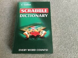 Collins Hard Back Scrabble Dictionary