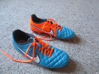 nike tiempo football boots uk 7