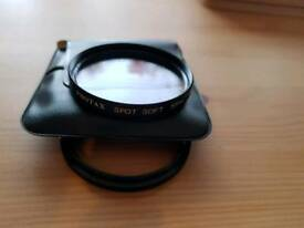 Photax 55mm softspot filter with 52-55mm step up ring