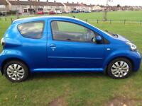 toyota aygo automatic only 21,000 miles
