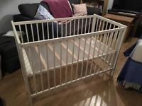 Ikea Gulliver 3 stage Cot