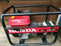 Honda generator EC 2200