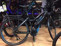 Great opportunity to buy a Yamaha powered electric bike with quality specs.