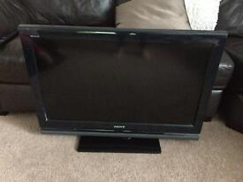 Sony colour LCD tv with free view and new remote