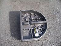 Ford Fiesta MK7 Boot Wheel Well Foam Insert