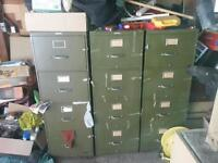 Heavy legal size file cabinets