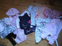 Baby girl outfit bundle £10 size 0-3 months