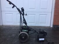 Power caddy all terrain sport electric golf trolley