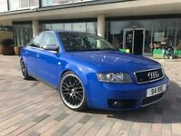 2004 Audi S4 4.2 Automatic 344 Bhp Huge Spec Immaculate Condition Sat Nav/Xenon/PaddleShifts