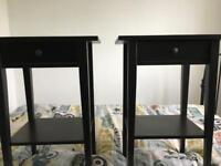 Ikea bedside tables and storage unit