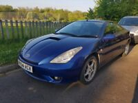 Toyota Celica VVTI Premium (140) Sunroof, climate and leather seats