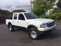 Winter 4wd ford ranger xlt 2.5 turbo diesel double cab pick up truck 55reg 4wd