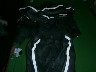 Hein gerike two piece leathers size 50