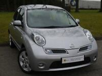 **AUTOMATIC**(60) Nissan Micra 1.2 16v N-TEC 5dr **FULL HISTORY** 1 OWNER** SAT NAV**CRUISE CONTROL