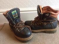 Black river boots