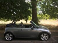 2004 MINI S LINE CONVERTIBLE 1.6L. BRILLIANT DRIVE. LONG MOT. S LINE PACKAGE. ALLOYS. A/C. 2 KEYS.