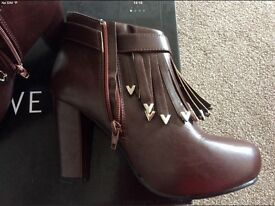 LADYS BOOTS AND SHOES JOB LOT SIZE UK 5