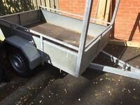 6X4 CAR TRAILER,6X4 GALVINISED,LIGHTS,LADDER RACK/LOCKING HITCH,RARELY USED
