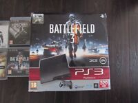 sony playstation 3 ps3 320GB with loads of games and controller. including original box
