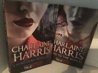 2 Charlaine Harris books-dead to the world & living dead in dallas