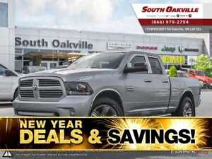 2014 Ram 1500 Sport | NAVIGATION | SUNROOF | VENTED LEATHER