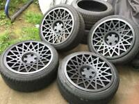 """VSP Type1 wheels and tyres Audi VW 18"""""""