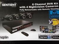 Cctv 8 Channel 4 Cameras Night Vision