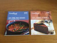 Set of 2 new recipe books