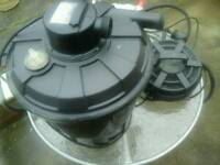 Pond pumps & filter uv lights plus all pipework & spares