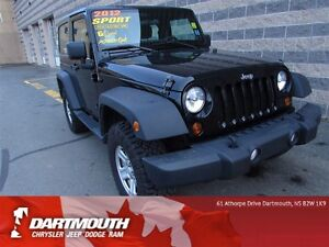 2012 Jeep Wrangler SPORT/HARD TOP/MAN TRANSMISSION