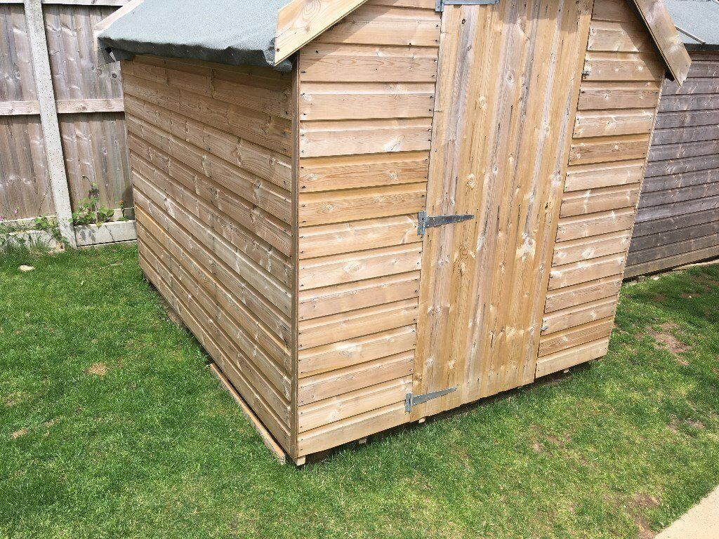 Tongue and groove 8X6ft wooden garden shed Honiton Area