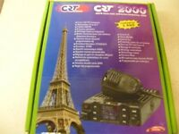 CRT 2000 AM/FM CITIZEN BAND 12/24V CB RADIO