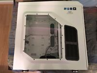 Cooler Master Stryker PC Case (White, Full Tower, Window, Gaming PC)