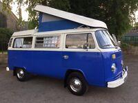 Bluebell - 1973 1.6 litre Type 2 VW Westfalia Campervan