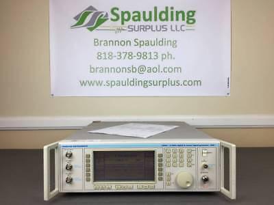 Marconi Ifr 2051 10khz To 2.7ghz Digitalvector Signal Generator W Opts 01 02