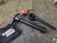 BLACK DECKER GW2200 Blower Vacuum