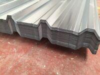 Box profile roof sheets, gavanised