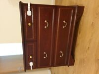 Vintage look chest of drawers mid-century look - wooden