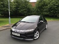 HONDA CIVIC TYPE-S i-VTEC --- ONLY 2 FORMER KEEPERS --- 2x KEYS --- FREE DELIVERY --- P/X WELCOME