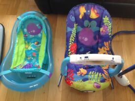 Fisher price ocean wonders baby bouncer