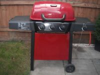 GAS BARBEQUE - RED - USED TWICE