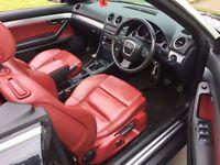 AF57YLRAudi A4 Cabriolet 1.8 T Sport Cabriolet 2dr, 6 MONTHS FREE WARRANTY, FULL SERVICE HISTORY