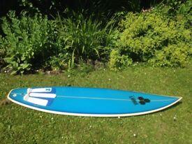 Al Merrick/Channel Islands Surfboard 6ft 4in