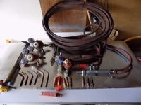 welding accessories and pipes and gauges with anti flash back valves