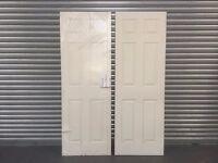White Six Panel Doors