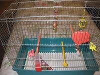 Large budgie / canary cage.