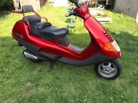 Piaggio hexagon 180 reg as 125 2 stroke rare scooter