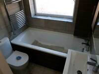bathroom fitters & Tiling ,Plastering , Painting and Decorating, Laminate flooring, plumbing