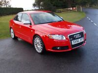 2006 56 STUNNING AUDI A4 2.0 TURBO QUATTRO S-LINE SPECIAL EDITION